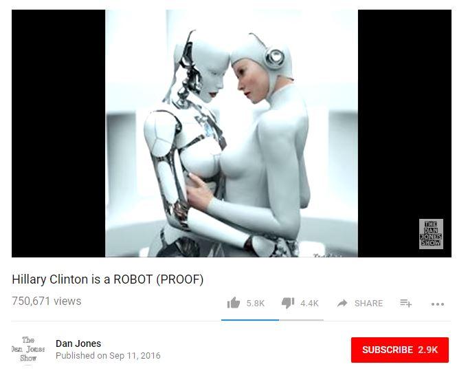 clinton robot