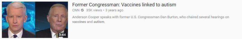 vax autism