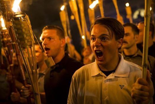angry racist
